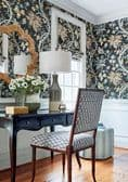 Thibaut Chatelain Wallpaper in Blue and White
